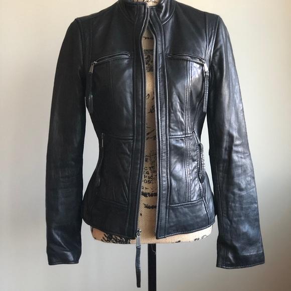 Michael Kors Jackets & Blazers - Michael Kors Genuine leather jacket